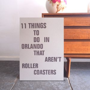 11 Things to do in Orlando
